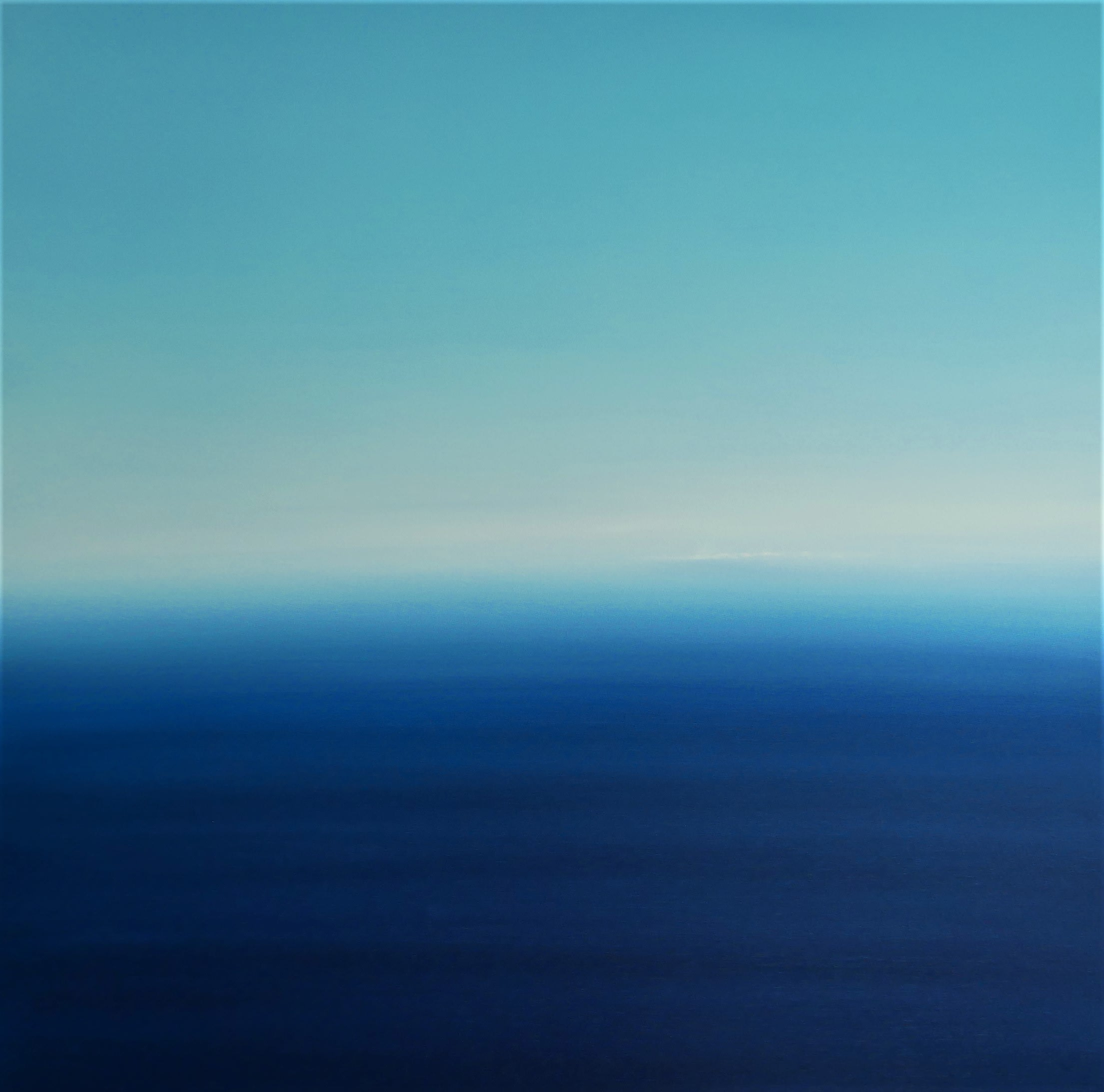 """<span class=""""link fancybox-details-link""""><a href=""""/artists/78-martyn-perryman/works/7825-martyn-perryman-blue-infinity-st-ives-bay-2021/"""">View Detail Page</a></span><div class=""""artist""""><strong>Martyn Perryman</strong></div> b. 1963 <div class=""""title""""><em>Blue Infinity St Ives Bay</em>, 2021</div> <div class=""""medium"""">oil on canvas<br /> </div> <div class=""""dimensions"""">h. 120 x w. 120 cm </div><div class=""""copyright_line"""">Ownart: £140 x 10 Months, 0% APR</div>"""