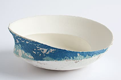 "<span class=""link fancybox-details-link""><a href=""/artists/79-clare-conrad/works/6603-clare-conrad-swirl-dish-2019/"">View Detail Page</a></span><div class=""artist""><strong>Clare Conrad</strong></div> b. 1948 <div class=""title""><em>Swirl Dish</em>, 2019</div> <div class=""medium"">Wheel-thrown stoneware with vitreous slip & satin-matt glaze.<br /> Thrown with Inset</div> <div class=""dimensions"">height 6 cm<br /> </div><div class=""price"">£220.00</div><div class=""copyright_line"">OwnArt: £ 22 x 10 Months, 0% APR</div>"
