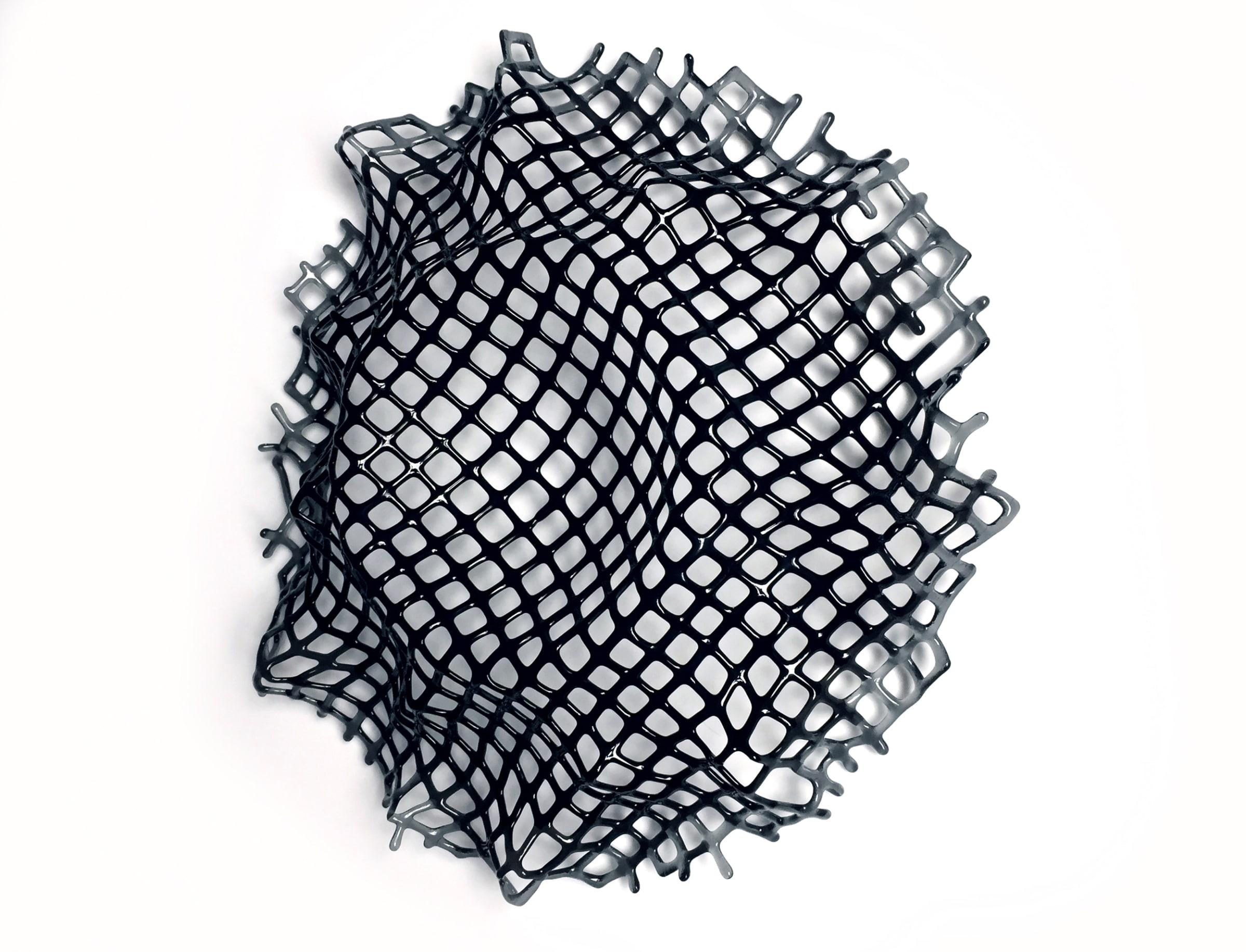 "<span class=""link fancybox-details-link""><a href=""/artists/194-lisa-pettibone/works/5227-lisa-pettibone-collapse-grey-to-black-2018/"">View Detail Page</a></span><div class=""artist""><strong>Lisa Pettibone</strong></div> b. 1960 <div class=""title""><em>Collapse - Grey to Black</em>, 2018</div> <div class=""medium"">fused glass vessel </div> <div class=""dimensions"">50 x 50 x 9 cm<br /> 19 3/4 x 19 3/4 x 3 1/2 inches</div><div class=""price"">£1,460.00</div><div class=""copyright_line"">OwnArt: £ 146 x 10 Months, 0% APR</div>"