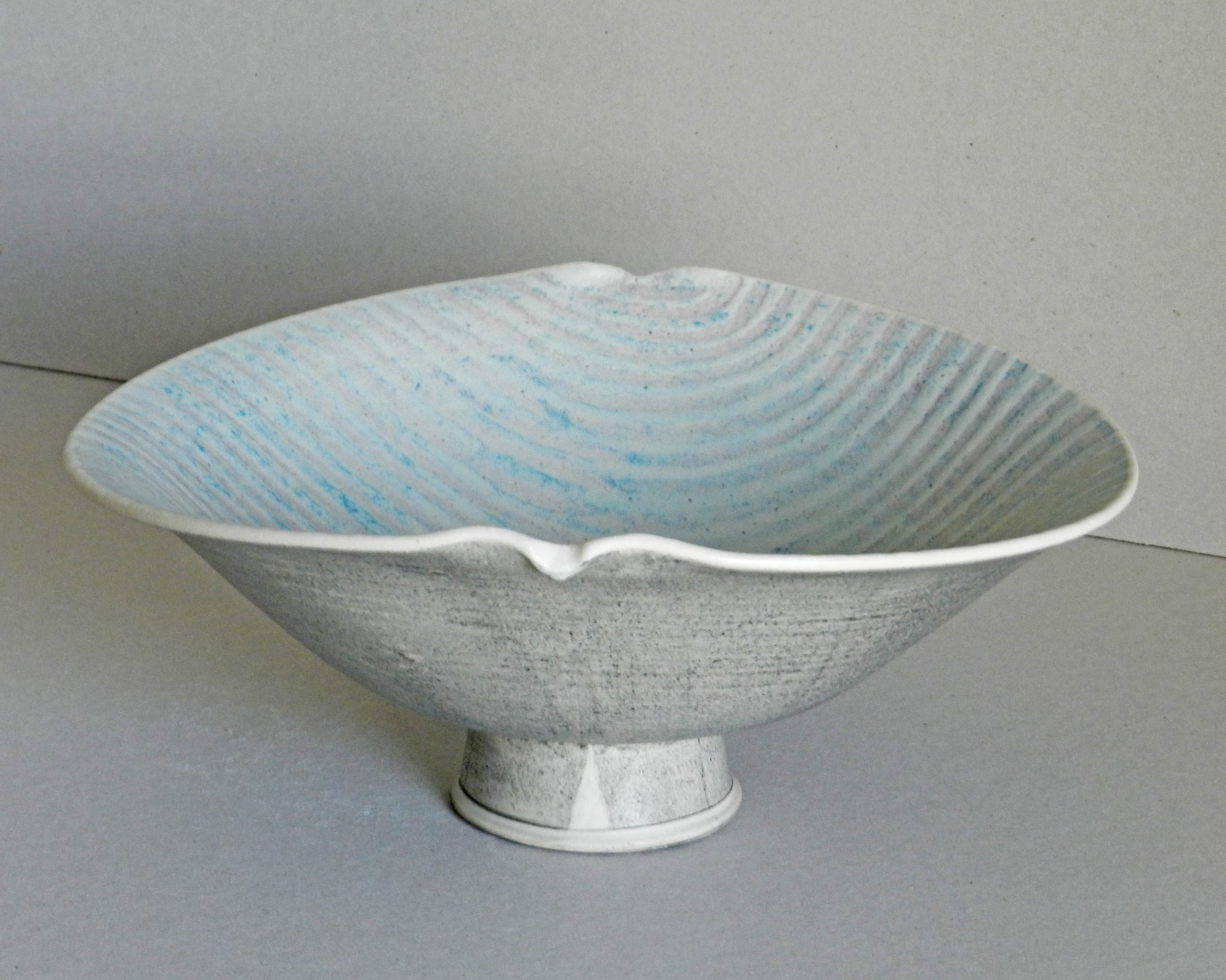 """<span class=""""link fancybox-details-link""""><a href=""""/artists/243-christine-feiler/works/6872-christine-feiler-pedestal-bowl-2019/"""">View Detail Page</a></span><div class=""""artist""""><strong>Christine Feiler</strong></div> b. 1948 <div class=""""title""""><em>Pedestal bowl</em>, 2019</div> <div class=""""signed_and_dated"""">Ceramicist mark on base</div> <div class=""""medium"""">Stoneware with enamels</div><div class=""""price"""">£320.00</div><div class=""""copyright_line"""">Copyright The Artist</div>"""