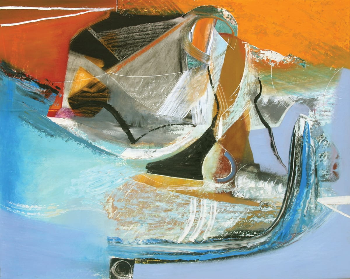 """<span class=""""link fancybox-details-link""""><a href=""""/artists/45-matthew-lanyon/works/4052-matthew-lanyon-europa-xiv-2006/"""">View Detail Page</a></span><div class=""""artist""""><strong>Matthew Lanyon</strong></div> 1951-2016 <div class=""""title""""><em>Europa XIV</em>, 2006</div> <div class=""""signed_and_dated"""">signed, titled and dated on reverse</div> <div class=""""medium"""">oil on canvas</div> <div class=""""dimensions"""">121.92 x 152.4 cm<br /> 48 x 60 in.</div><div class=""""copyright_line"""">@ The Estate of Matthew Lanyon</div>"""
