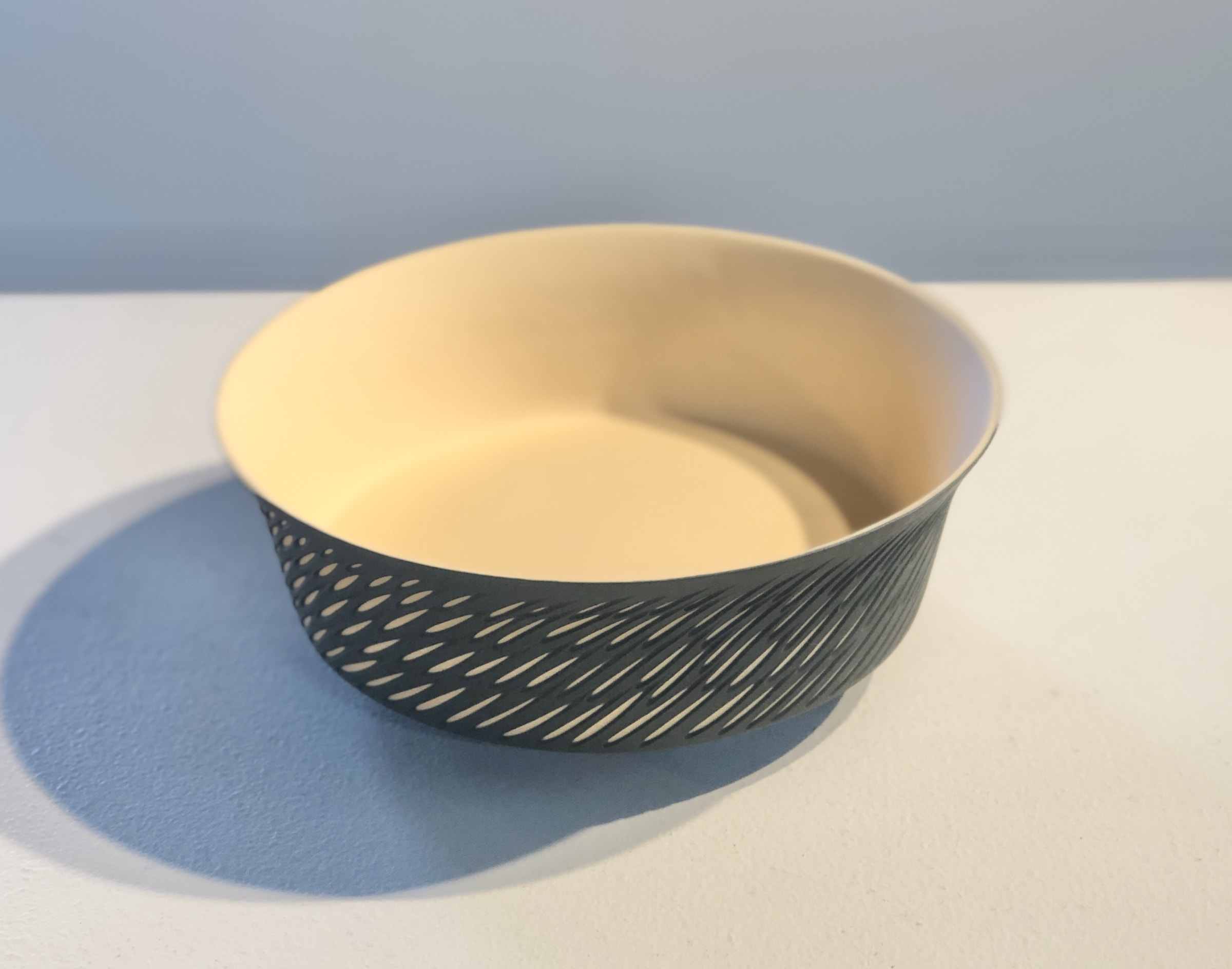 """<span class=""""link fancybox-details-link""""><a href=""""/artists/60-sasha-wardell/works/7061-sasha-wardell-small-straight-sided-shoal-dish-2020/"""">View Detail Page</a></span><div class=""""artist""""><strong>Sasha Wardell</strong></div> b. 1956 <div class=""""title""""><em>Small Straight Sided Shoal Dish</em>, 2020</div> <div class=""""medium"""">Layered Porcelain </div><div class=""""price"""">£210.00</div><div class=""""copyright_line"""">Ownart: £21 x 10 Months, 0% APR</div>"""