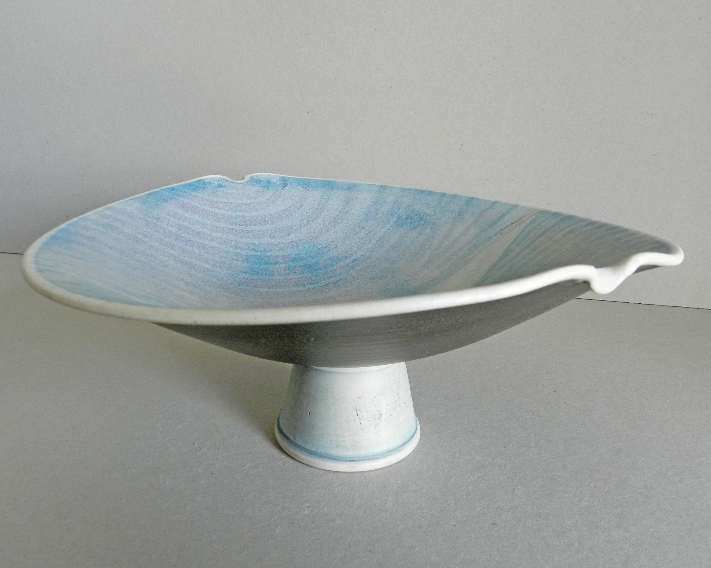 "<span class=""link fancybox-details-link""><a href=""/artists/243-christine-feiler/works/6869-christine-feiler-pedestal-bowl-2019/"">View Detail Page</a></span><div class=""artist""><strong>Christine Feiler</strong></div> b. 1948 <div class=""title""><em>Pedestal bowl</em>, 2019</div> <div class=""signed_and_dated"">Ceramicist mark on base</div> <div class=""medium"">Stoneware with enamels</div><div class=""copyright_line"">Copyright The Artist</div>"