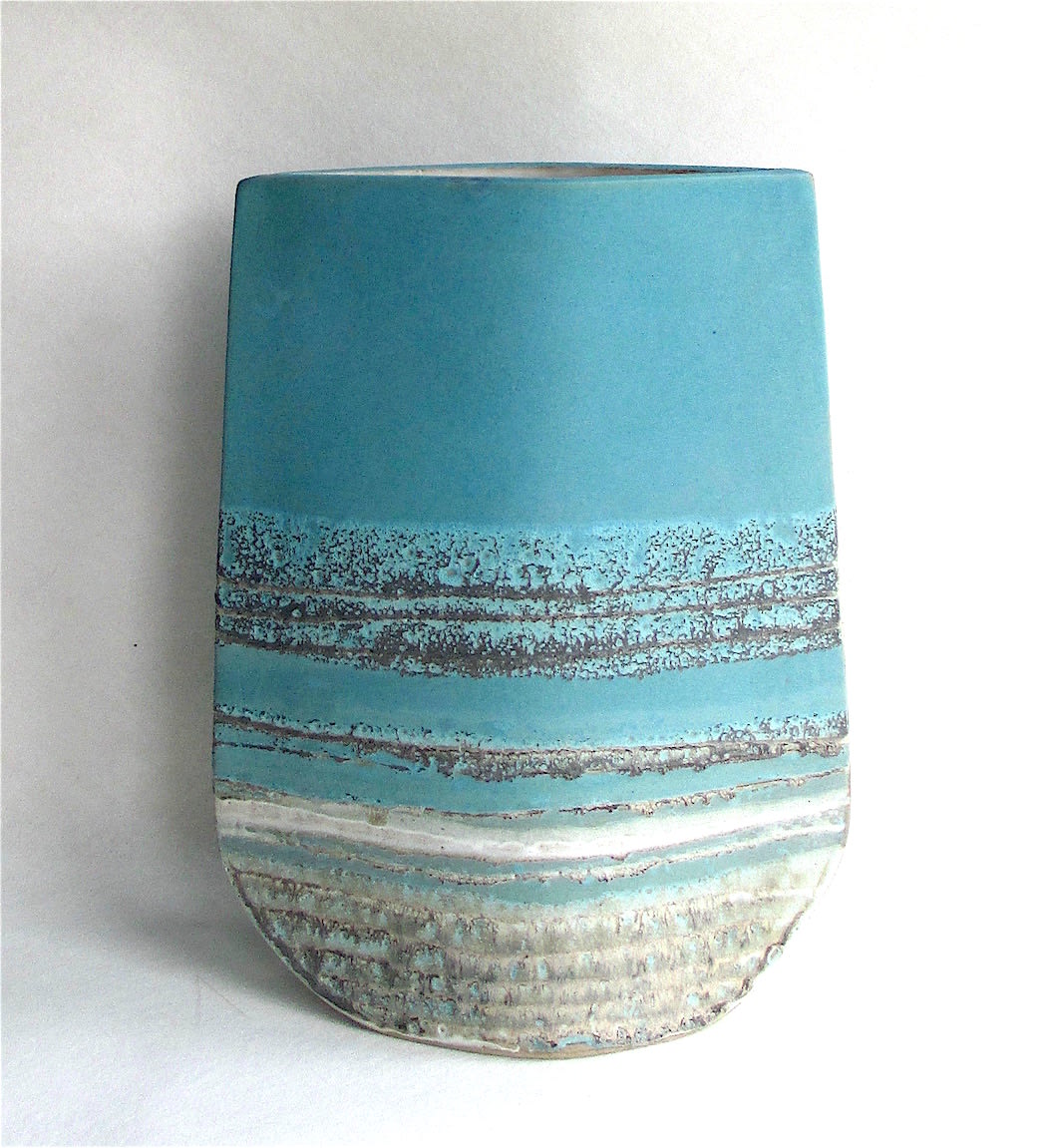"""<span class=""""link fancybox-details-link""""><a href=""""/artists/44-sarah-perry/works/7439-sarah-perry-turquoise-totem-vessel-2020/"""">View Detail Page</a></span><div class=""""artist""""><strong>Sarah Perry</strong></div> <div class=""""title""""><em>Turquoise Totem Vessel</em>, 2020</div> <div class=""""signed_and_dated"""">Impressed with the artist's seal mark 'SP'</div> <div class=""""medium"""">stoneware</div> <div class=""""dimensions"""">h. 32.5 cm x w. 22 cm x d. 9 cm</div><div class=""""price"""">£550.00</div><div class=""""copyright_line"""">Own Art: £55 x 10 months, 0% APR</div>"""
