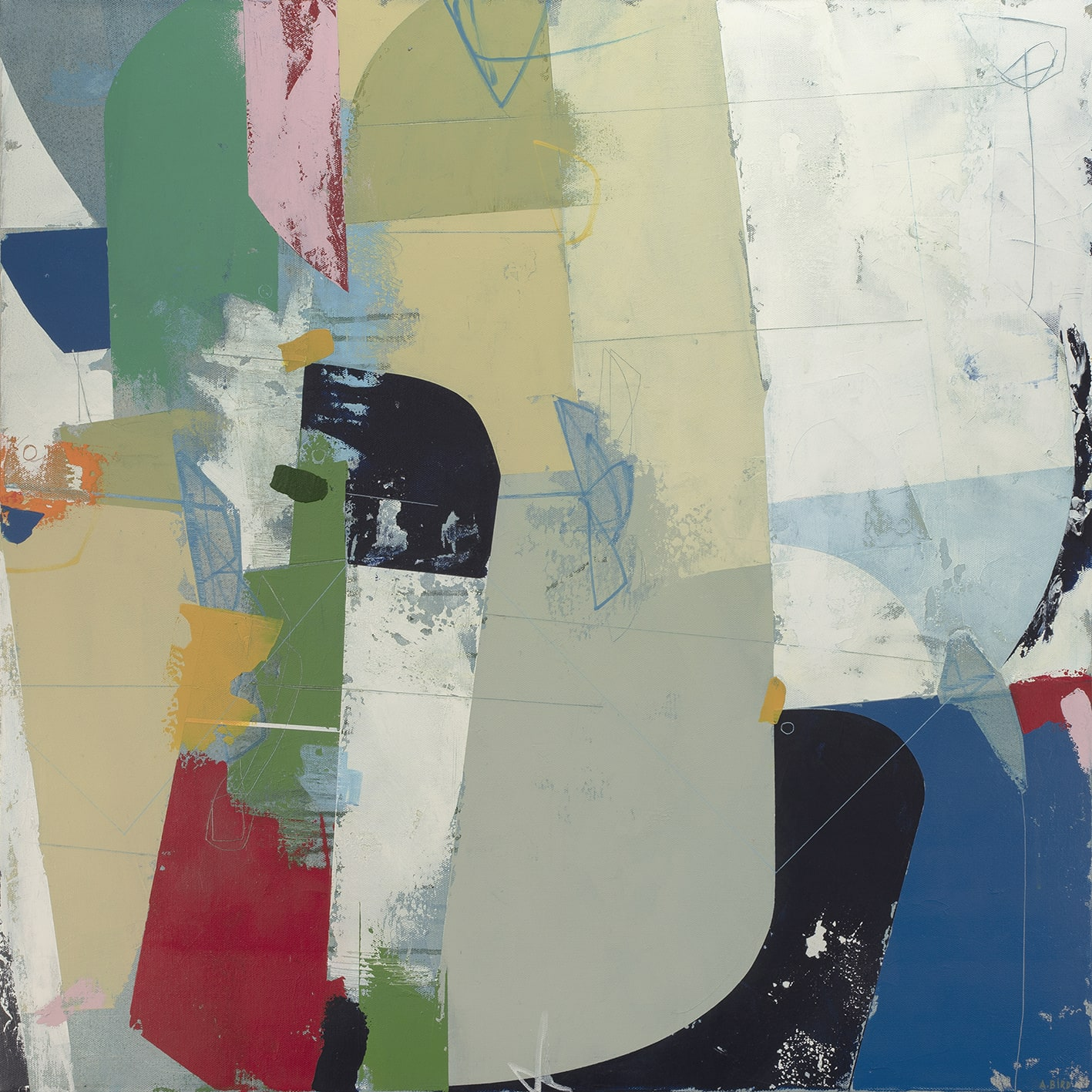 """<span class=""""link fancybox-details-link""""><a href=""""/store/artworks/6203-andrew-bird-sidewalking-2019/"""">View Detail Page</a></span><div class=""""artist""""><strong>Andrew Bird</strong></div> b. 1969 <div class=""""title""""><em>Sidewalking</em>, 2019</div> <div class=""""signed_and_dated"""">signed, titled and dated on reverse</div> <div class=""""medium"""">acrylic on canvas</div> <div class=""""dimensions"""">76 x w 76 cm</div><div class=""""price"""">£2,500.00</div><div class=""""copyright_line"""">Own Art: £ 250 x 10 Months, 0% APR</div>"""