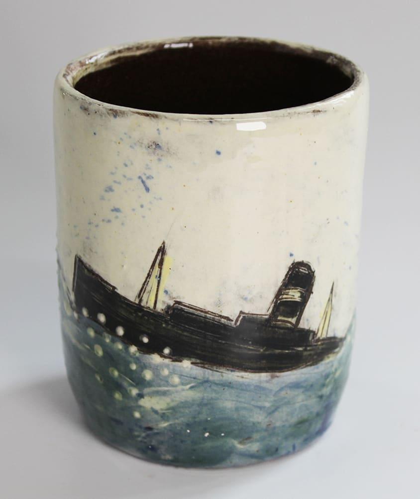 "<span class=""link fancybox-details-link""><a href=""/artists/428-anne-barrell/works/7650-anne-barrell-rum-cup-2021/"">View Detail Page</a></span><div class=""artist""><strong>Anne Barrell</strong></div> <div class=""title""><em>Rum Cup</em>, 2021</div> <div class=""medium"">handmade, handpainted ceramic</div> <div class=""dimensions"">h. 9 x w. 8 cm</div><div class=""copyright_line"">Ownart: £5.50 x 10 Months, 0% APR</div>"