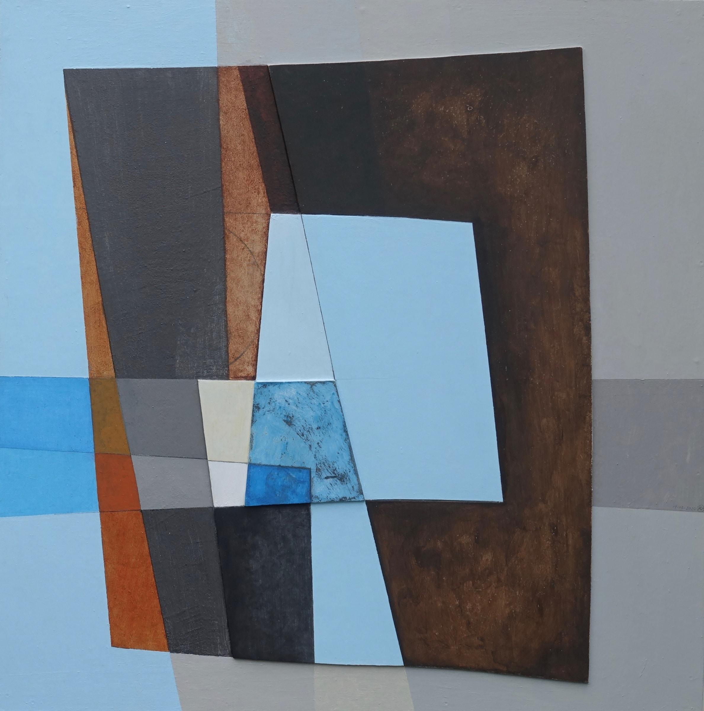 "<span class=""link fancybox-details-link""><a href=""/artists/172-patrick-haughton/works/7214-patrick-haughton-entering-harbour-blue-2020/"">View Detail Page</a></span><div class=""artist""><strong>Patrick Haughton</strong></div> b. 1942 <div class=""title""><em>Entering Harbour: Blue</em>, 2020</div> <div class=""medium"">carved relief on board/acrylic</div> <div class=""dimensions"">72 x 72 cm</div><div class=""price"">£1,950.00</div><div class=""copyright_line"">Own Art: £195 x 10 months, 0% APR</div>"