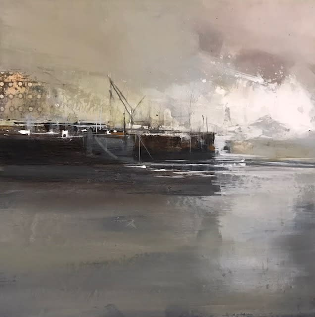 """<span class=""""link fancybox-details-link""""><a href=""""/artists/92-jenny-hirst/works/7578-jenny-hirst-harbour-wall-2021/"""">View Detail Page</a></span><div class=""""artist""""><strong>Jenny Hirst</strong></div> <div class=""""title""""><em>Harbour Wall</em>, 2021</div> <div class=""""medium"""">Acrylic and collage on board</div> <div class=""""dimensions"""">h. 30 cm x w. 30 cm<br /> Framed size: h. 50 cm x w. 50 cm</div><div class=""""price"""">£600.00</div><div class=""""copyright_line"""">Own Art: £60 x 10 months, 0% APR</div>"""