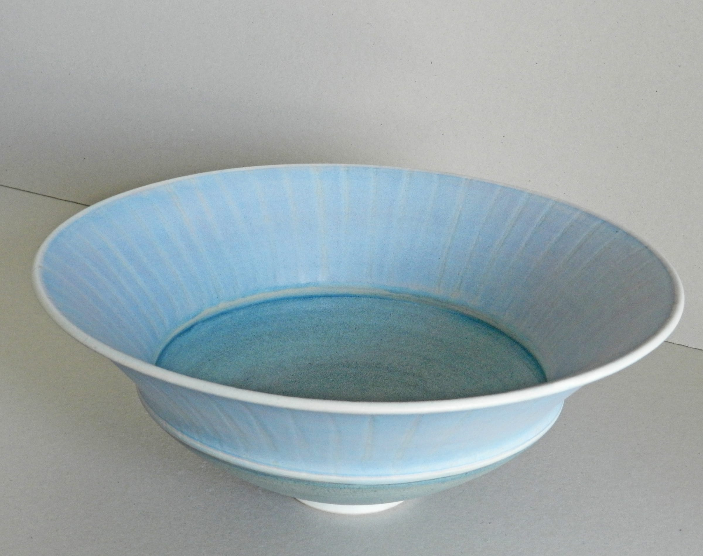 """<span class=""""link fancybox-details-link""""><a href=""""/artists/243-christine-feiler/works/6870-christine-feiler-large-double-rim-bowl-2018/"""">View Detail Page</a></span><div class=""""artist""""><strong>Christine Feiler</strong></div> b. 1948 <div class=""""title""""><em>Large double rim bowl</em>, 2018</div> <div class=""""signed_and_dated"""">Ceramicist mark on base</div> <div class=""""medium"""">Stoneware with enamels</div><div class=""""price"""">£385.00</div><div class=""""copyright_line"""">Copyright The Artist</div>"""