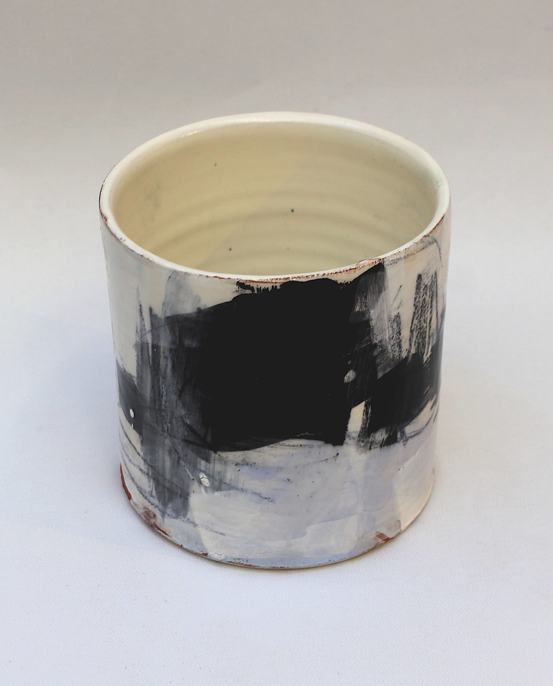 """<span class=""""link fancybox-details-link""""><a href=""""/artists/34-barry-stedman/works/4151-barry-stedman-thrown-vessel-coast-series-2017/"""">View Detail Page</a></span><div class=""""artist""""><strong>Barry Stedman</strong></div> b. 1965 <div class=""""title""""><em>Thrown Vessel 'Coast' Series</em>, 2017</div> <div class=""""signed_and_dated"""">signed by artist</div> <div class=""""medium"""">thrown and altered earthenware, decorated with slips</div> <div class=""""dimensions"""">11 x 11 cm<br /> 4 3/8 x 4 3/8 inches</div><div class=""""price"""">£240.00</div><div class=""""copyright_line"""">OwnArt: £ 24 x 10 Months, 0% APR</div>"""