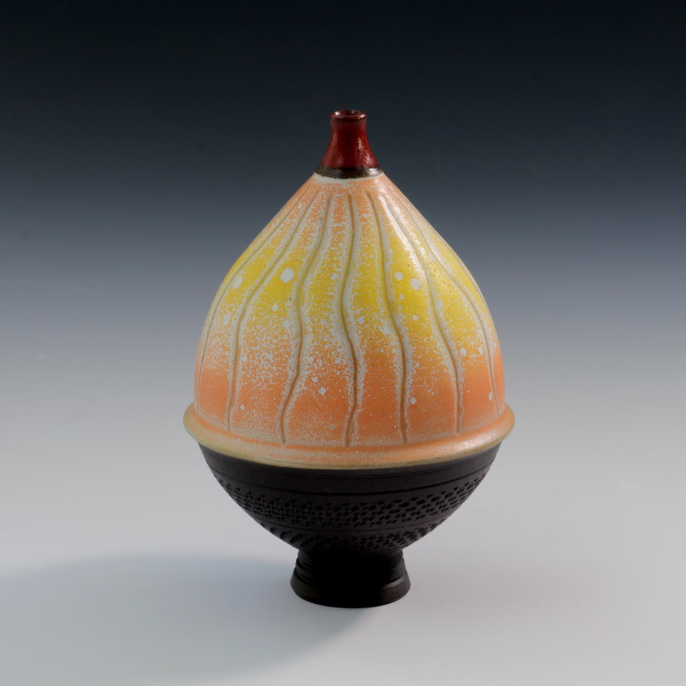"<span class=""link fancybox-details-link""><a href=""/artists/61-geoffrey-swindell/works/7803-geoffrey-swindell-bud-vase-2021/"">View Detail Page</a></span><div class=""artist""><strong>Geoffrey Swindell</strong></div> <div class=""title""><em>Bud Vase</em>, 2021</div> <div class=""medium"">porcelain<br /> </div> <div class=""dimensions"">h. 10 cm</div><div class=""price"">£220.00</div><div class=""copyright_line"">Own Art: £22 x 10 Months, 0% APR</div>"