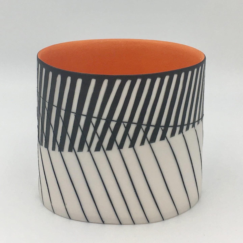 "<span class=""link fancybox-details-link""><a href=""/artists/195-lara-scobie/works/6525-lara-scobie-oval-vessel-with-orange-interior-2019/"">View Detail Page</a></span><div class=""artist""><strong>Lara Scobie</strong></div> b. 1967 <div class=""title""><em>Oval Vessel with Orange Interior</em>, 2019</div> <div class=""medium"">Porcelain</div><div class=""copyright_line"">Own Art: £25 x 10 Months, 0% APR</div>"