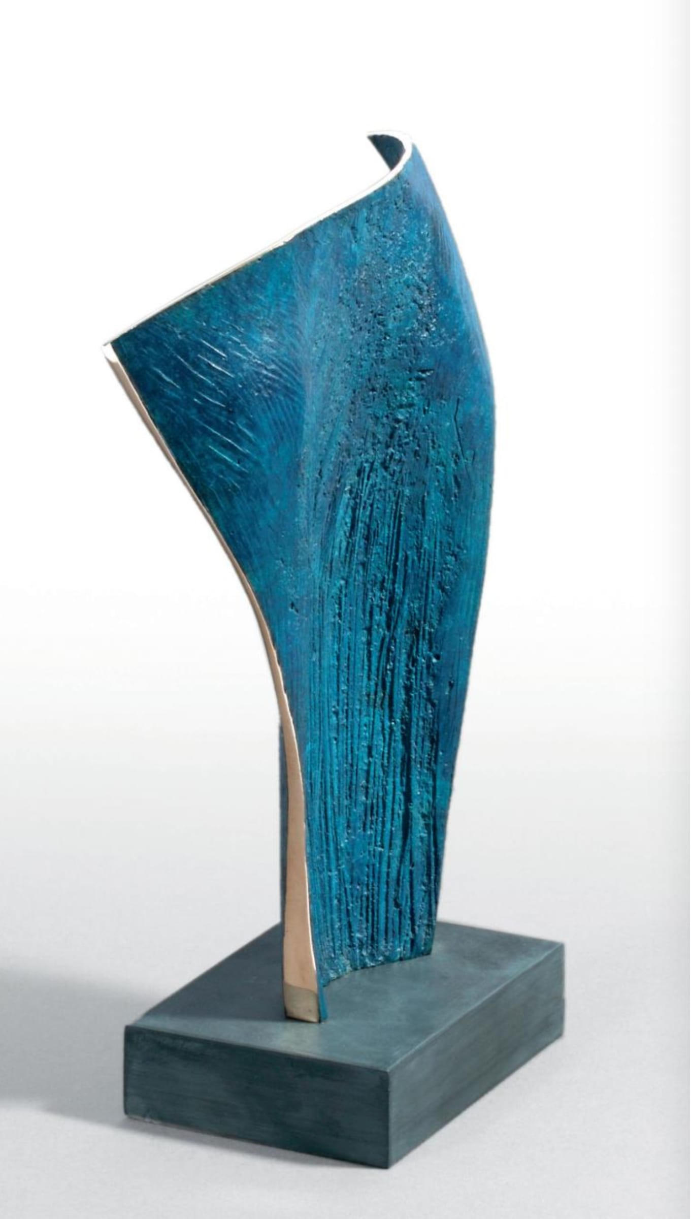 """<span class=""""link fancybox-details-link""""><a href=""""/artists/69-margaret-lovell-d.litt.-hon-frbs-rwa/works/5671-margaret-lovell-d.litt.-hon-frbs-rwa-eleftheria-2008/"""">View Detail Page</a></span><div class=""""artist""""><strong>Margaret Lovell D.Litt. Hon FRBS RWA</strong></div> b. 1939 <div class=""""title""""><em>Eleftheria</em>, 2008</div> <div class=""""signed_and_dated"""">signed and stamped by the artist '3/6'</div> <div class=""""medium"""">cast bronze (patinated) on granite base</div> <div class=""""dimensions"""">25 x 15 x 8 cm<br /> 9 7/8 x 5 7/8 x 3 1/8 in</div> <div class=""""edition_details"""">edition 3 of 6</div><div class=""""price"""">£2,600.00</div><div class=""""copyright_line"""">Own Art: £ 250 x 10 Months, 0% APR + £ 100 deposit</div>"""