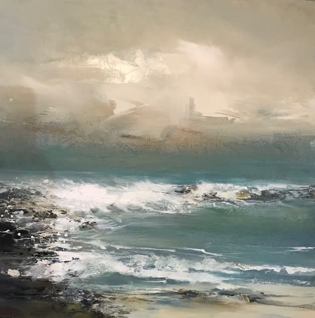 """<span class=""""link fancybox-details-link""""><a href=""""/artists/92-jenny-hirst/works/7577-jenny-hirst-wind-picking-up-2021/"""">View Detail Page</a></span><div class=""""artist""""><strong>Jenny Hirst</strong></div> <div class=""""title""""><em>Wind Picking Up</em>, 2021</div> <div class=""""medium"""">Acrylic on Panel</div> <div class=""""dimensions"""">h. 40 x w. 40 cm<br /> Framed size: h. 58 cm x w. 58 cm</div><div class=""""price"""">£700.00</div><div class=""""copyright_line"""">Own Art: £70 x 10 months, 0% APR</div>"""