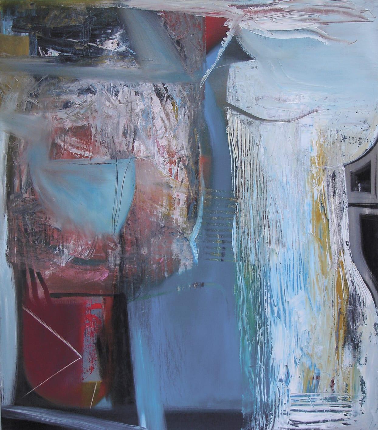 "<span class=""link fancybox-details-link""><a href=""/artists/45-matthew-lanyon/works/4115-matthew-lanyon-europa-x-2003/"">View Detail Page</a></span><div class=""artist""><strong>Matthew Lanyon</strong></div> 1951 –2016 <div class=""title""><em>Europa X</em>, 2003</div> <div class=""signed_and_dated"">signed, titled and dated on reverse board</div> <div class=""medium"">oil on board</div> <div class=""dimensions"">122 x 106 cm<br /> 48 1/8 x 41 3/4 inches</div><div class=""copyright_line"">@ The Estate of Matthew Lanyon</div>"