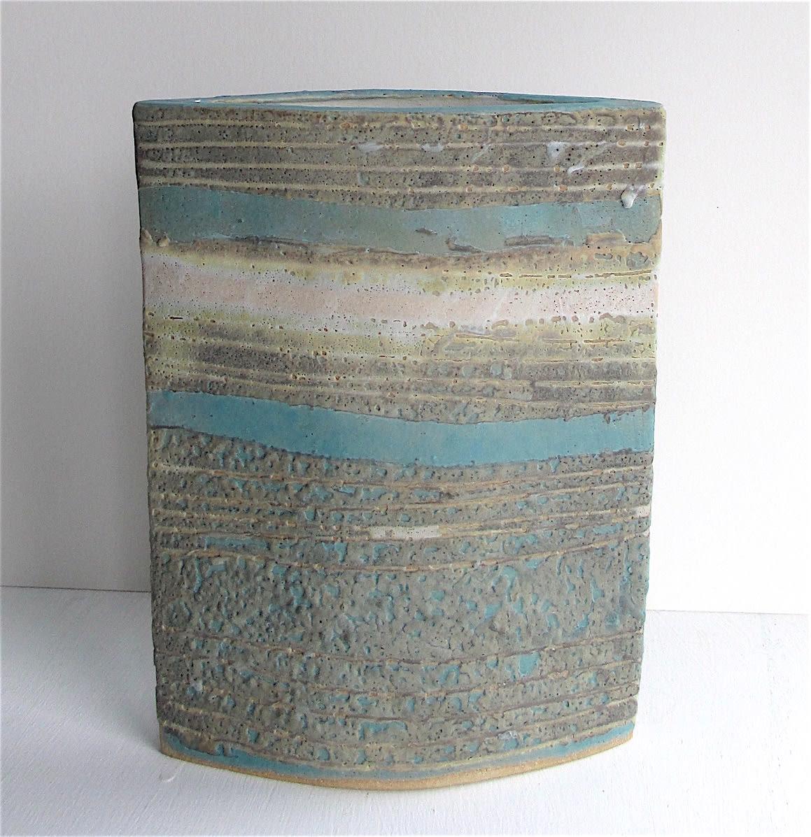 "<span class=""link fancybox-details-link""><a href=""/artists/44-sarah-perry/works/7447-sarah-perry-pale-water-ellipse-2020/"">View Detail Page</a></span><div class=""artist""><strong>Sarah Perry</strong></div> b. 1945 <div class=""title""><em>Pale Water Ellipse</em>, 2020</div> <div class=""medium"">Stoneware<br /> Impressed with the artist's seal 'SP'</div> <div class=""dimensions"">h. 22 cm x w. 17 cm x d. 4.5 cm </div><div class=""price"">£210.00</div><div class=""copyright_line"">Own Art: £21 x 10 months, 0% APR</div>"