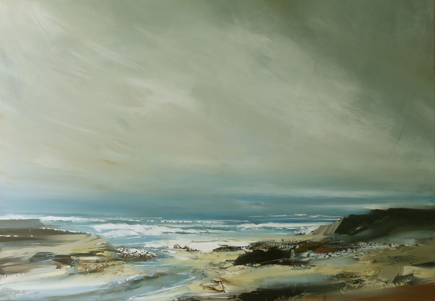 """<span class=""""link fancybox-details-link""""><a href=""""/artists/92-jenny-hirst/works/7117-jenny-hirst-inlet-2020/"""">View Detail Page</a></span><div class=""""artist""""><strong>Jenny Hirst</strong></div> b. 1954 <div class=""""title""""><em>Inlet</em>, 2020</div> <div class=""""medium"""">acrylic on canvas</div> <div class=""""dimensions"""">100cm x 70cm</div><div class=""""copyright_line"""">Own Art £140 x 10 months, 0% APR</div>"""