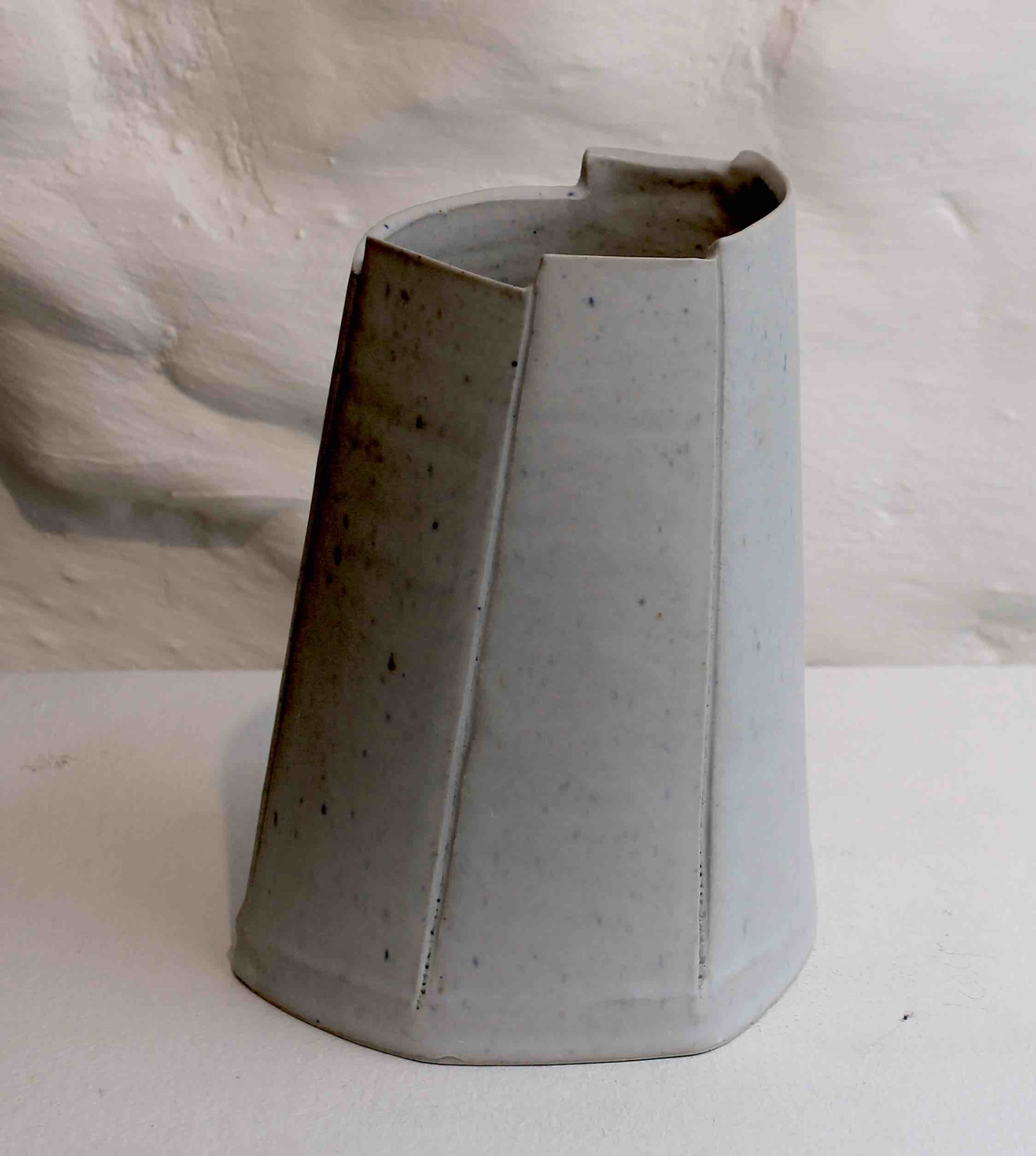 """<span class=""""link fancybox-details-link""""><a href=""""/artists/99-carina-ciscato/works/5762-carina-ciscato-medium-coloured-vase-2018/"""">View Detail Page</a></span><div class=""""artist""""><strong>Carina Ciscato</strong></div> b. 1970 <div class=""""title""""><em>Medium Coloured Vase</em>, 2018</div> <div class=""""signed_and_dated"""">porcelain</div> <div class=""""medium"""">porcelain</div> <div class=""""dimensions"""">15 x 9 cm<br /> 5 7/8 x 3 1/2 inches</div><div class=""""price"""">£500.00</div><div class=""""copyright_line"""">OwnArt: £50  x 10 Months, 0% APR</div>"""