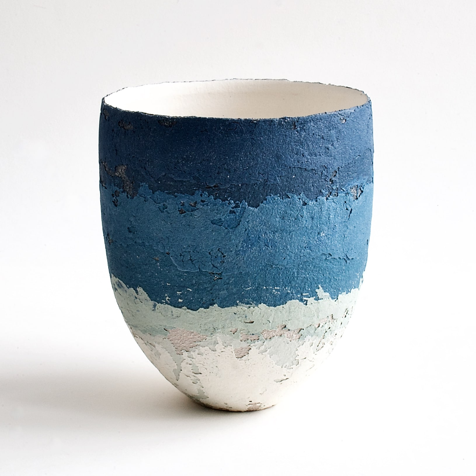 """<span class=""""link fancybox-details-link""""><a href=""""/artists/79-clare-conrad/works/8120-clare-conrad-vessel-white-interior-2021/"""">View Detail Page</a></span><div class=""""artist""""><strong>Clare Conrad</strong></div> b. 1948 <div class=""""title""""><em>Vessel, white interior</em>, 2021</div> <div class=""""medium"""">wheel-thrown stoneware </div> <div class=""""dimensions"""">h. 16.5 cm </div><div class=""""price"""">£330.00</div><div class=""""copyright_line"""">Own Art: £33 x 10 Months, 0% APR</div>"""