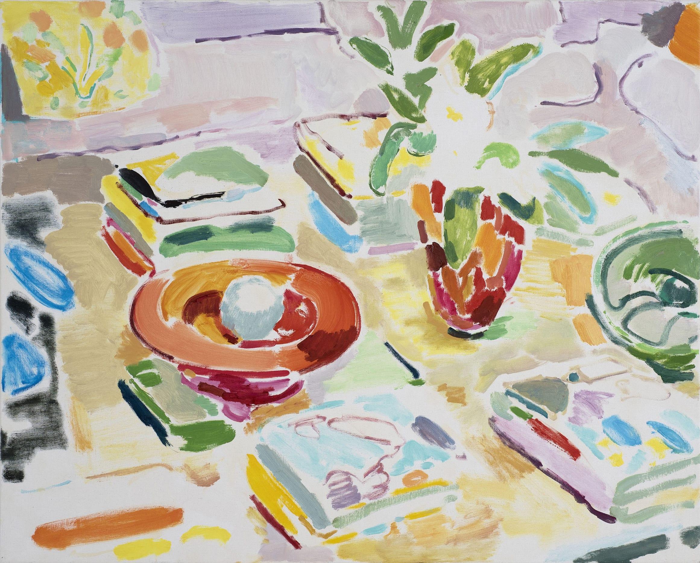 """<span class=""""link fancybox-details-link""""><a href=""""/exhibitions/21/works/artworks1060/"""">View Detail Page</a></span><div class=""""artist""""><strong>Tim Braden</strong></div><div class=""""title""""><em>Powis Terrace (catalogues)</em>, 2019</div><div class=""""medium"""">OIl on canvas</div><div class=""""dimensions"""">61x76cm (24x30"""")</div>"""