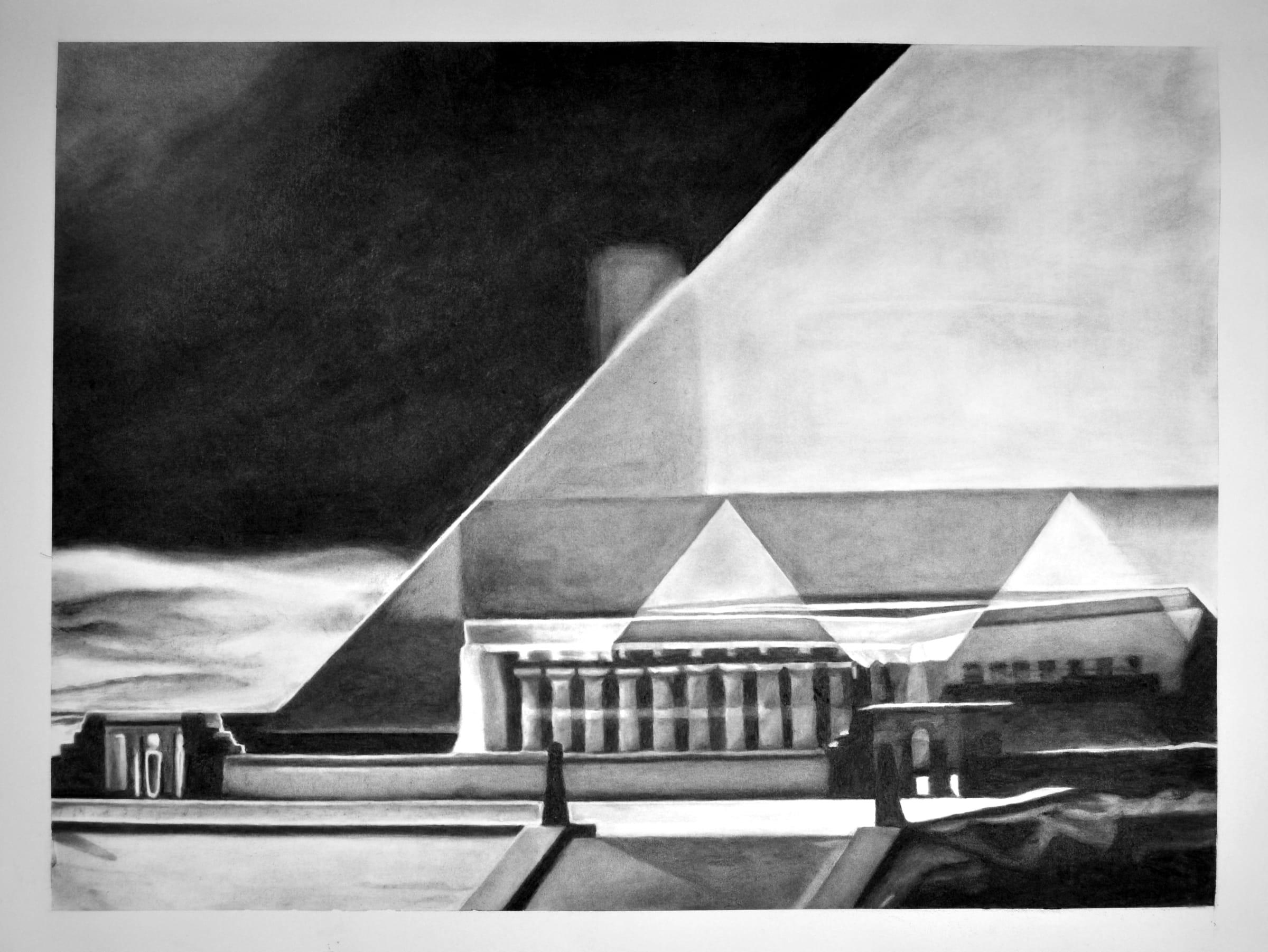 "<span class=""link fancybox-details-link""><a href=""/exhibitions/28/works/artworks1499/"">View Detail Page</a></span><div class=""artist""><strong>Karen Russo</strong></div> b.1974<div class=""title"">Untitled, 2020</div><div class=""medium"">Charcoal on paper</div><div class=""dimensions"">paper size: 129 x 98cm</div>"