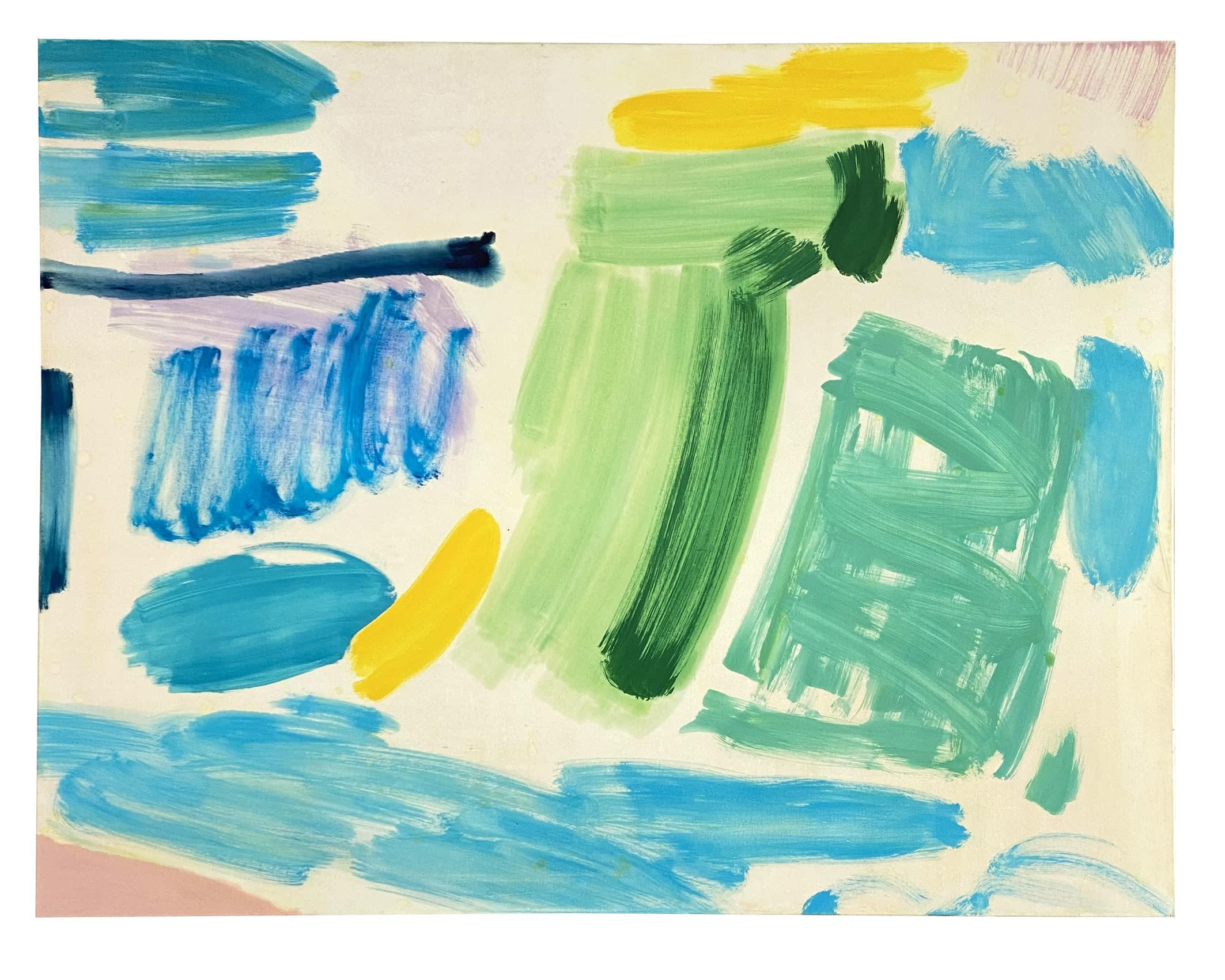 "<span class=""link fancybox-details-link""><a href=""/exhibitions/21/works/artworks979/"">View Detail Page</a></span><div class=""artist""><strong>Tim Braden</strong></div><div class=""title""><em>Prussian, Yellow and Green Dash</em>, 2018</div><div class=""medium"">Oil on canvas</div><div class=""dimensions"">130x170cm (51x67"")</div>"