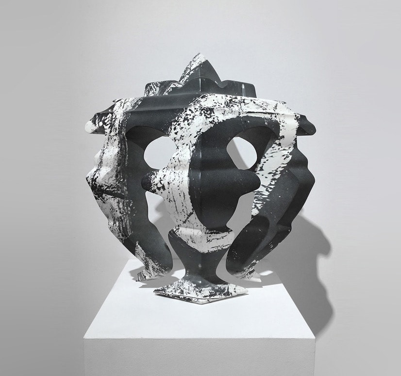 "<span class=""link fancybox-details-link""><a href=""/exhibitions/13/works/artworks501/"">View Detail Page</a></span><div class=""medium"">Marble resin, lacquer, paint</div> <div class=""dimensions"">50x50x25cm</div>"