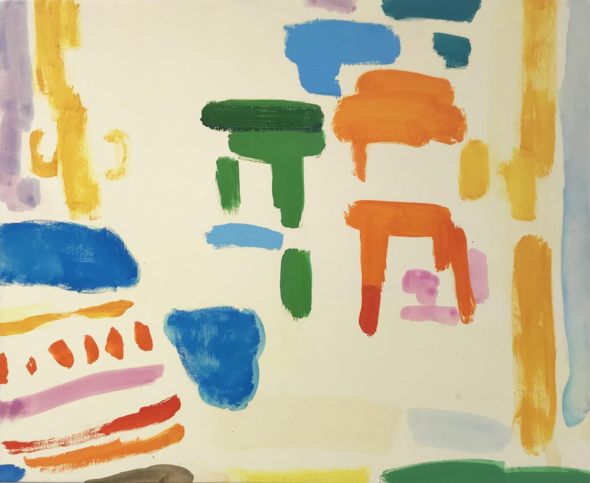 "<span class=""link fancybox-details-link""><a href=""/exhibitions/21/works/artworks1044/"">View Detail Page</a></span><div class=""artist""><strong>Tim Braden</strong></div> b.1975<div class=""title""><em>Cadmium orange chair</em>, 2019</div><div class=""medium"">oil on canvas on board</div><div class=""dimensions"">51 x 61cm (20x24"")<br></div>"