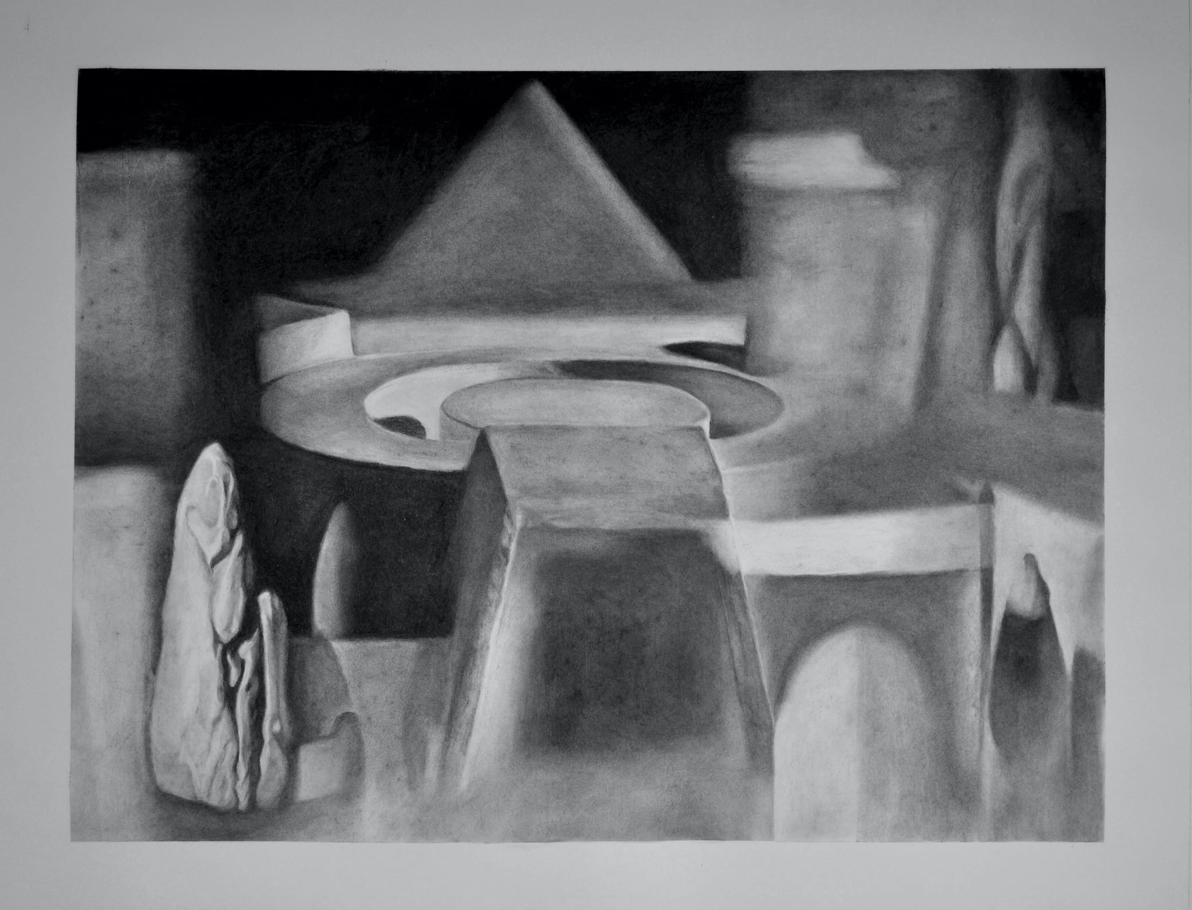 "<span class=""link fancybox-details-link""><a href=""/exhibitions/28/works/artworks1501/"">View Detail Page</a></span><div class=""medium"">charcoal on paper</div> <div class=""dimensions"">85.5 x 109cm</div>"