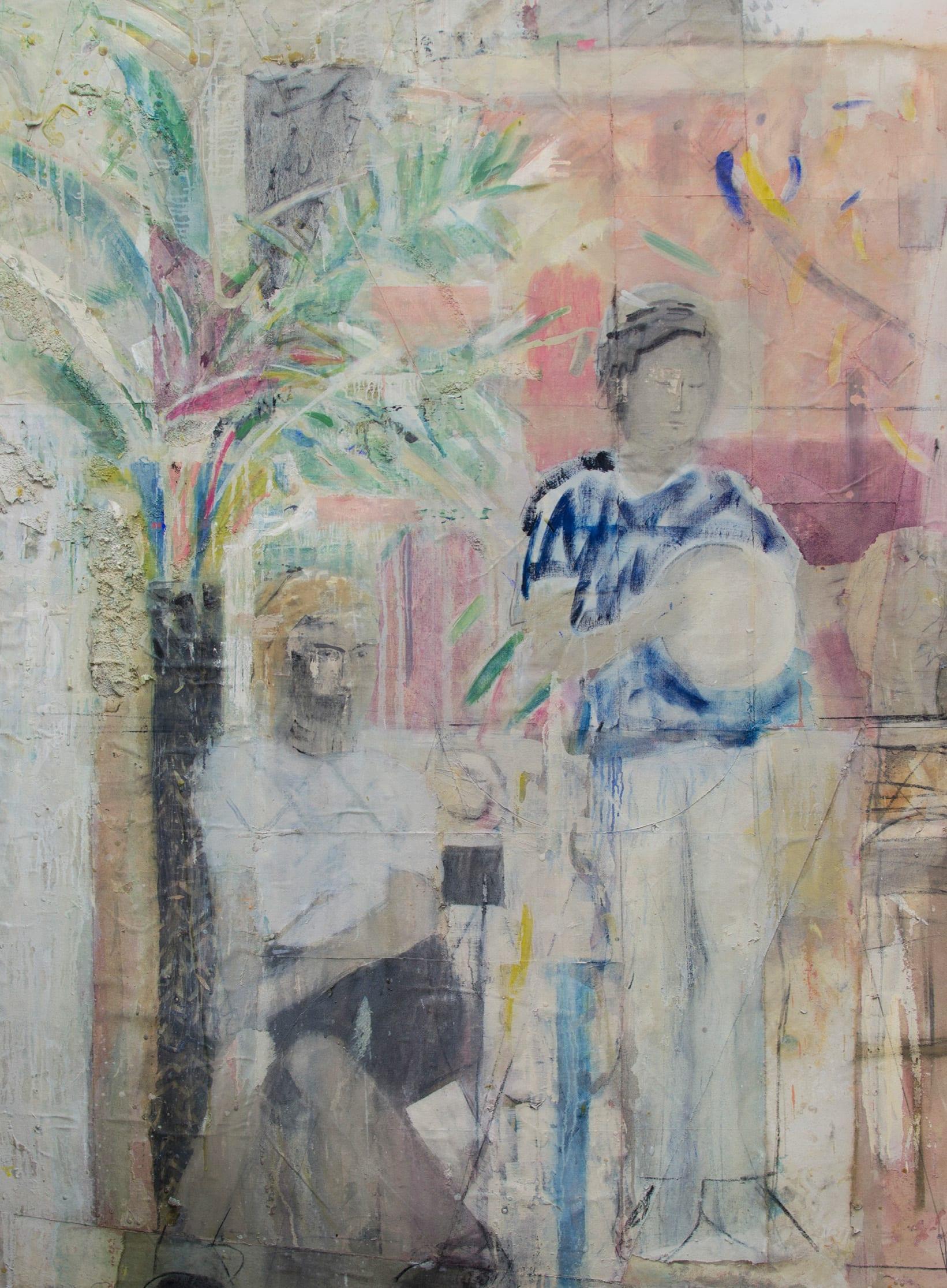 "<span class=""link fancybox-details-link""><a href=""/exhibitions/26/works/artworks1239/"">View Detail Page</a></span><div class=""artist""><strong>Nick Jensen</strong></div><div class=""title""><em>Moroccan Girl</em>, 2019</div><div class=""medium"">Oil on collaged canvas</div><div class=""dimensions"">190 x 140cm</div>"