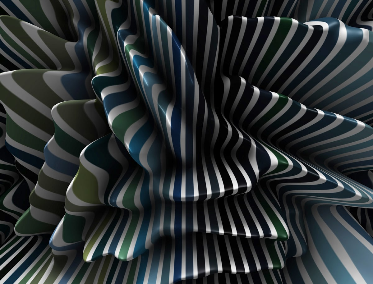 R&D Stripe Painting   Diane Rosenblum