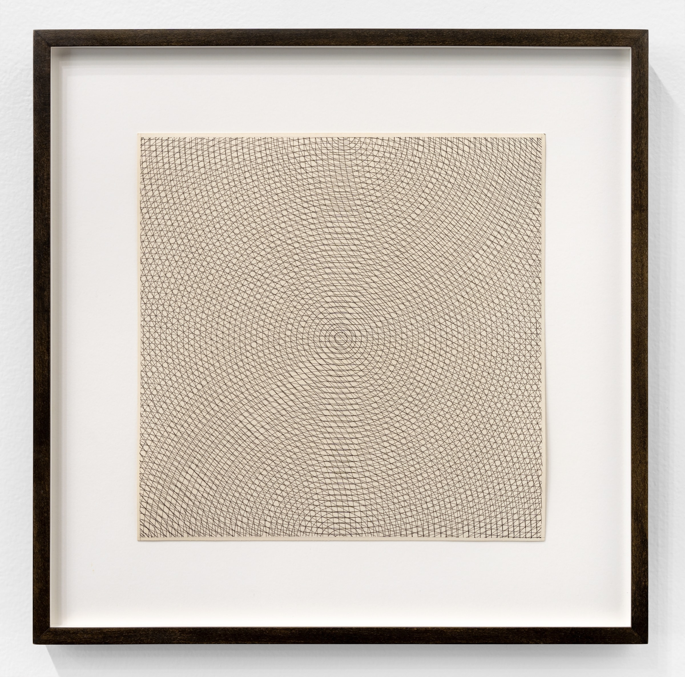 Sol Lewitt, Circles, Arcs from Opposite Corners and Opposite Sides, 1971 | The Bonnier Gallery