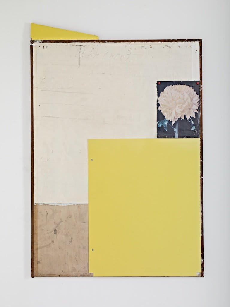 <span class=&#34;link fancybox-details-link&#34;><a href=&#34;/artists/16-paul-merrick/works/7805/&#34;>View Detail Page</a></span><div class=&#34;artist&#34;><strong>Paul Merrick</strong></div> <div class=&#34;title&#34;><em>Still Life (Chrysanthemum)</em>, 2012</div> <div class=&#34;medium&#34;>Plywood, Powder Coated Steel, Melamine, Magazine, Pins</div> <div class=&#34;dimensions&#34;>90 x 122 cm<br />35 3/8 x 48 1/8 in</div><div class=&#34;copyright_line&#34;>Copyright The Artist</div>