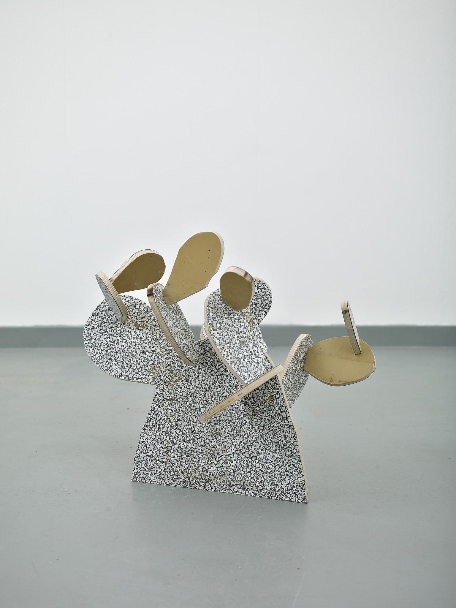 <span class=&#34;link fancybox-details-link&#34;><a href=&#34;/artists/16-paul-merrick/works/8574/&#34;>View Detail Page</a></span><div class=&#34;artist&#34;><strong>Paul Merrick</strong></div> <div class=&#34;title&#34;><em>Cactus (Sabras)</em>, 2014</div> <div class=&#34;medium&#34;>Melamine</div> <div class=&#34;dimensions&#34;>52 x 60 x 53 cm<br />20 1/2 x 23 5/8 x 20 7/8 in</div><div class=&#34;copyright_line&#34;>Copyright The Artist</div>