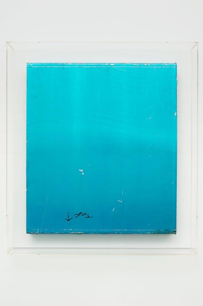 <span class=&#34;link fancybox-details-link&#34;><a href=&#34;/artists/16-paul-merrick/works/6081/&#34;>View Detail Page</a></span><div class=&#34;artist&#34;><strong>Paul Merrick</strong></div> <div class=&#34;title&#34;><em>Untitled (Top Blue)</em>, 2010</div> <div class=&#34;medium&#34;>Aluminium, Protective Film, Marker Pen</div> <div class=&#34;dimensions&#34;>60 x 53 cm<br />23 5/8 x 20 7/8 in</div><div class=&#34;copyright_line&#34;>Copyright The Artist</div>