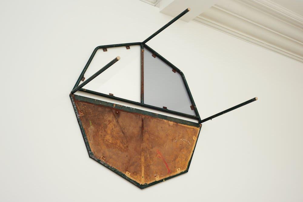 <span class=&#34;link fancybox-details-link&#34;><a href=&#34;/artists/16-paul-merrick/works/6793/&#34;>View Detail Page</a></span><div class=&#34;artist&#34;><strong>Paul Merrick</strong></div> <div class=&#34;title&#34;><em>Untitled (Table Table)</em>, 2011</div> <div class=&#34;medium&#34;>Wood, Steel, Acrylic</div> <div class=&#34;dimensions&#34;>130 x 130 x 68 cm<br />51 1/8 x 51 1/8 x 26 3/4 in</div><div class=&#34;copyright_line&#34;>Copyright The Artist</div>