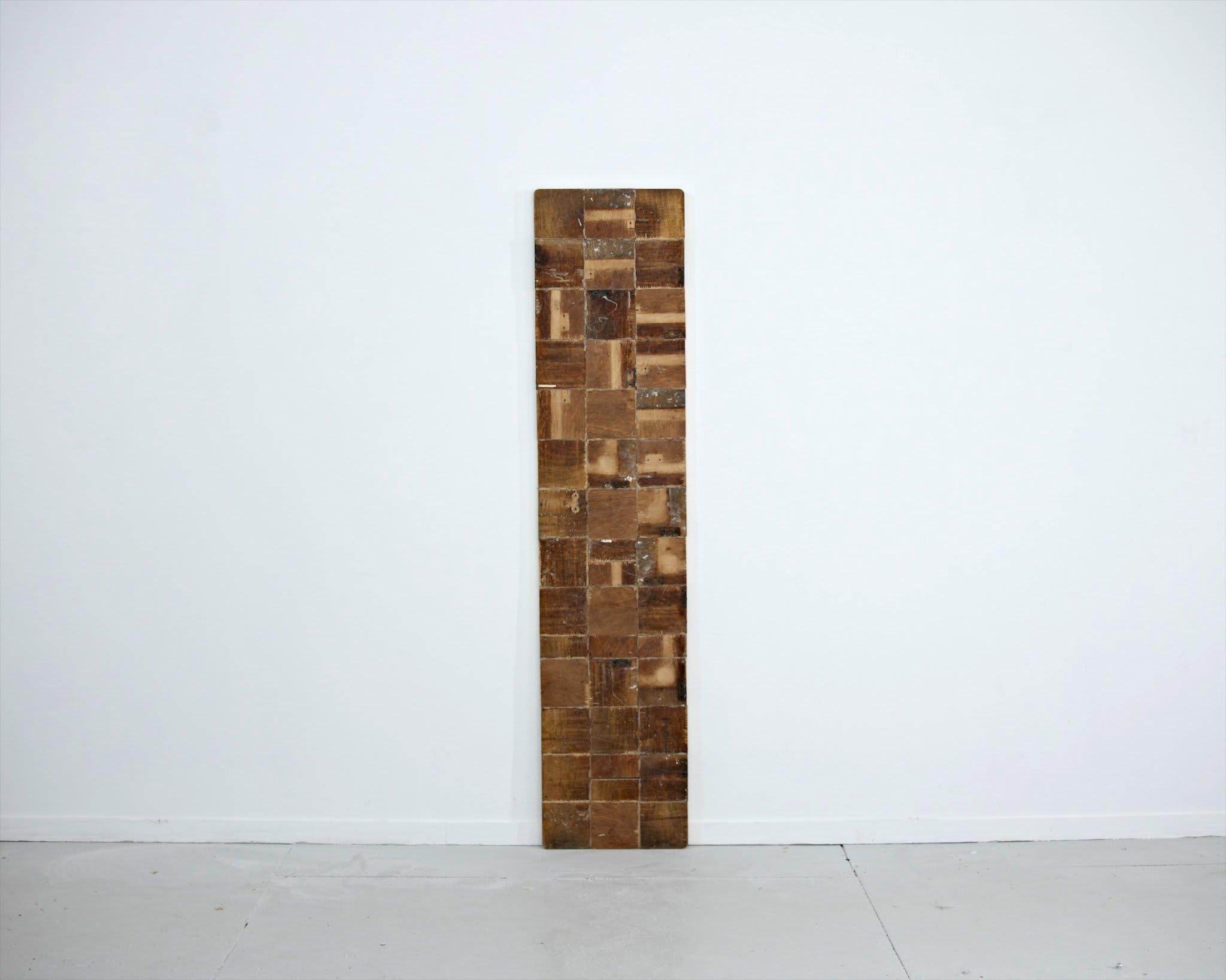 <span class=&#34;link fancybox-details-link&#34;><a href=&#34;/artists/16-paul-merrick/works/8109/&#34;>View Detail Page</a></span><div class=&#34;artist&#34;><strong>Paul Merrick</strong></div> <div class=&#34;title&#34;><em>Untitled (After John)</em>, 2013</div> <div class=&#34;medium&#34;>Melamine, glue</div> <div class=&#34;dimensions&#34;>32 x 144.5 cm<br />12 5/8 x 56 7/8 in</div><div class=&#34;copyright_line&#34;>Copyright The Artist</div>