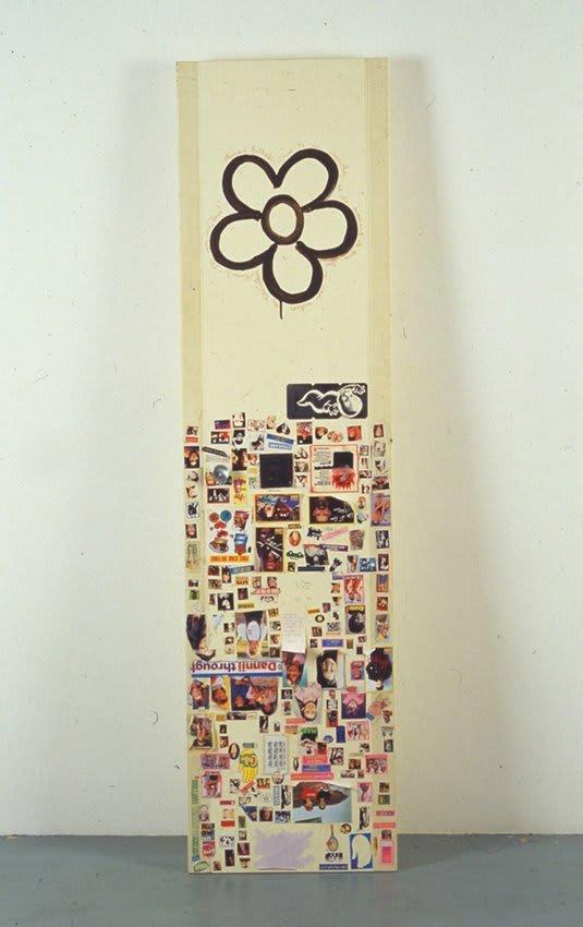 <span class=&#34;link fancybox-details-link&#34;><a href=&#34;/exhibitions/15/works/artworks610/&#34;>View Detail Page</a></span><div class=&#34;medium&#34;>door, paint, stickers</div> <div class=&#34;dimensions&#34;>170 x 44 x 22 cm</div>