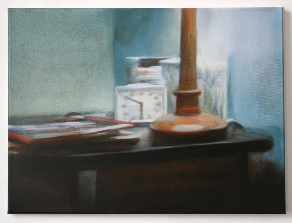 <span class=&#34;link fancybox-details-link&#34;><a href=&#34;/artists/14-rachel-lancaster/works/723/&#34;>View Detail Page</a></span><div class=&#34;artist&#34;><strong>Rachel Lancaster</strong></div> <div class=&#34;title&#34;><em>Lamp</em>, 2007</div> <div class=&#34;medium&#34;>Oil on Canvas</div><div class=&#34;copyright_line&#34;>Copyright The Artist</div>