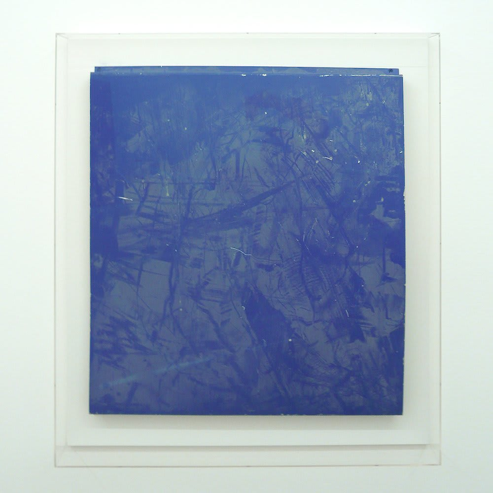<span class=&#34;link fancybox-details-link&#34;><a href=&#34;/artists/16-paul-merrick/works/6079/&#34;>View Detail Page</a></span><div class=&#34;artist&#34;><strong>Paul Merrick</strong></div> <div class=&#34;title&#34;><em>Untitled (Blue)</em>, 2010</div> <div class=&#34;medium&#34;>Aluminium, Dust</div> <div class=&#34;dimensions&#34;>69 x 78 cm<br />27 1/8 x 30 3/4 in</div><div class=&#34;copyright_line&#34;>Copyright The Artist</div>