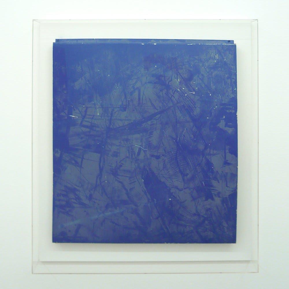"<span class=""link fancybox-details-link""><a href=""/artists/27-paul-merrick/works/6079-paul-merrick-untitled-blue-2010/"">View Detail Page</a></span><div class=""artist""><strong>Paul Merrick</strong></div> <div class=""title""><em>Untitled (Blue)</em>, 2010</div> <div class=""medium"">Aluminium, Dust</div> <div class=""dimensions"">69 x 78 cm<br />27 1/8 x 30 3/4 in</div><div class=""copyright_line"">Copyright The Artist</div>"