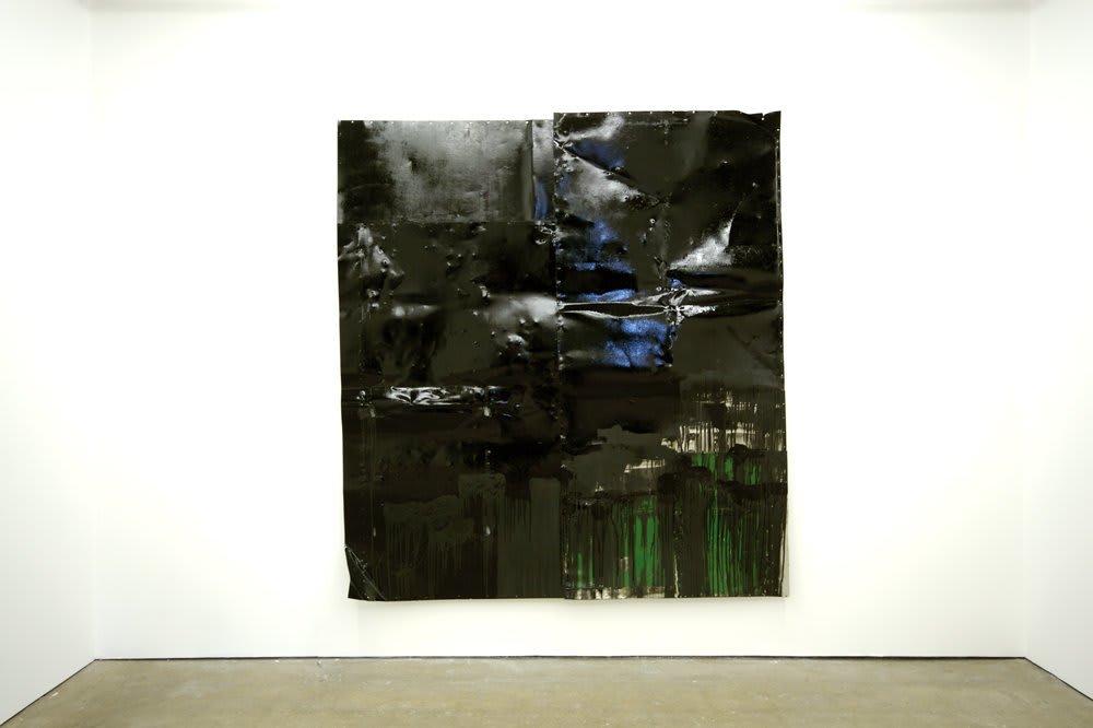 <span class=&#34;link fancybox-details-link&#34;><a href=&#34;/artists/16-paul-merrick/works/45/&#34;>View Detail Page</a></span><div class=&#34;artist&#34;><strong>Paul Merrick</strong></div> <div class=&#34;title&#34;><em>Untitled (Big Glossy)</em>, 2007</div> <div class=&#34;medium&#34;>Emulsion, Enamel and Gloss Paint on Aluminium</div> <div class=&#34;dimensions&#34;>240 x 260 cm<br />94 1/2 x 102 3/8 in</div>