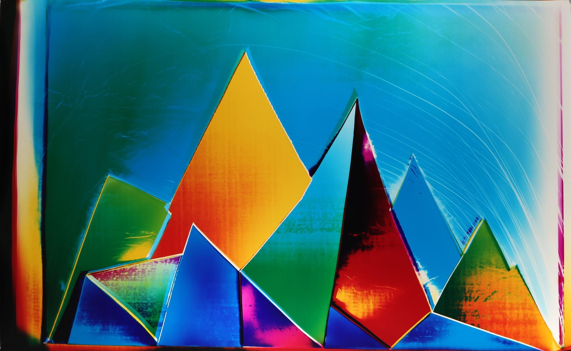 "<span class=""link fancybox-details-link""><a href=""/exhibitions/8/works/image103/"">View Detail Page</a></span><div class=""artist""><strong>Liz Nielsen</strong></div><div class=""title""><em>Underwater Mountains</em>, 2018</div><div class=""signed_and_dated"">Signed, titled and dated on artists label</div><div class=""medium"">Analogue Chromogenic Photogram on Fujiflex, Unique</div><div class=""dimensions"">127 x 203.2 cm</div>"