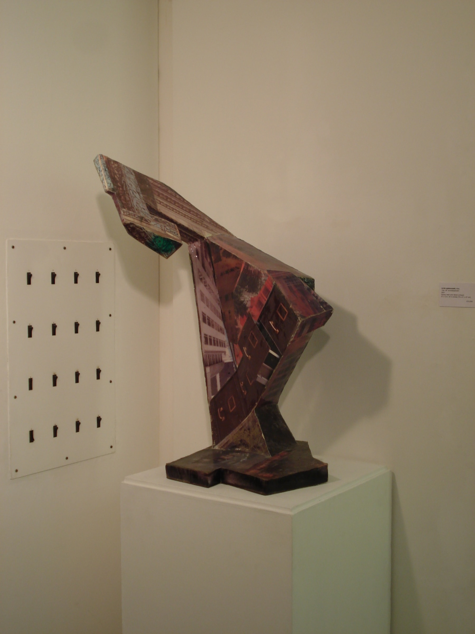 """<span class=""""link fancybox-details-link""""><a href=""""/exhibitions/103/works/image_standalone409/"""">View Detail Page</a></span><p>IVOR ABRAHAMS RA   PAINTED SCULPTURE   04 FEB - 21 FEB 2008   Installation View</p>"""