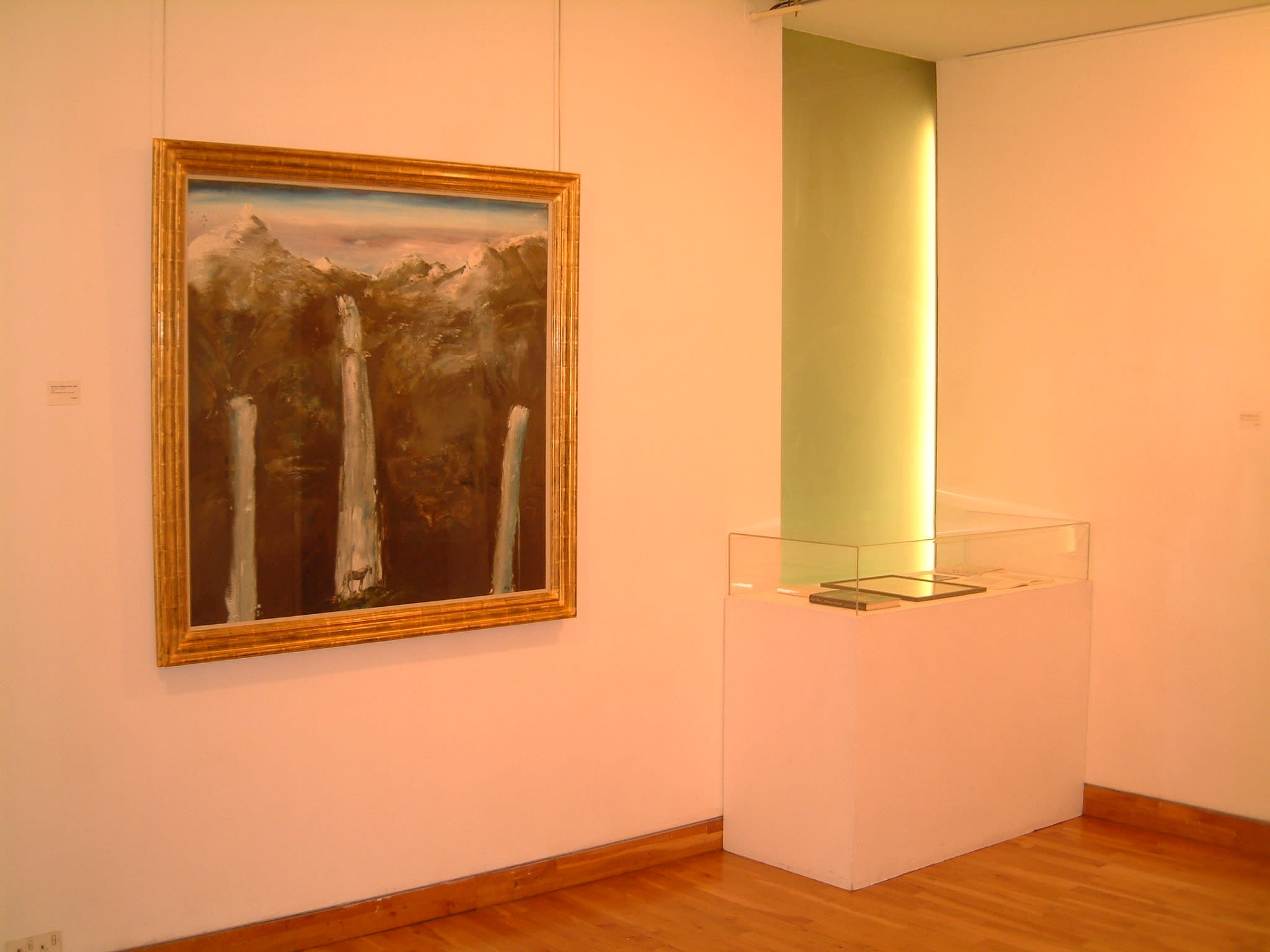 """<span class=""""link fancybox-details-link""""><a href=""""/exhibitions/116/works/image_standalone488/"""">View Detail Page</a></span><p>MICHAEL WISHART   THE LAST WORKS   09 NOV - 20 DEC 2005   Installation View</p>"""