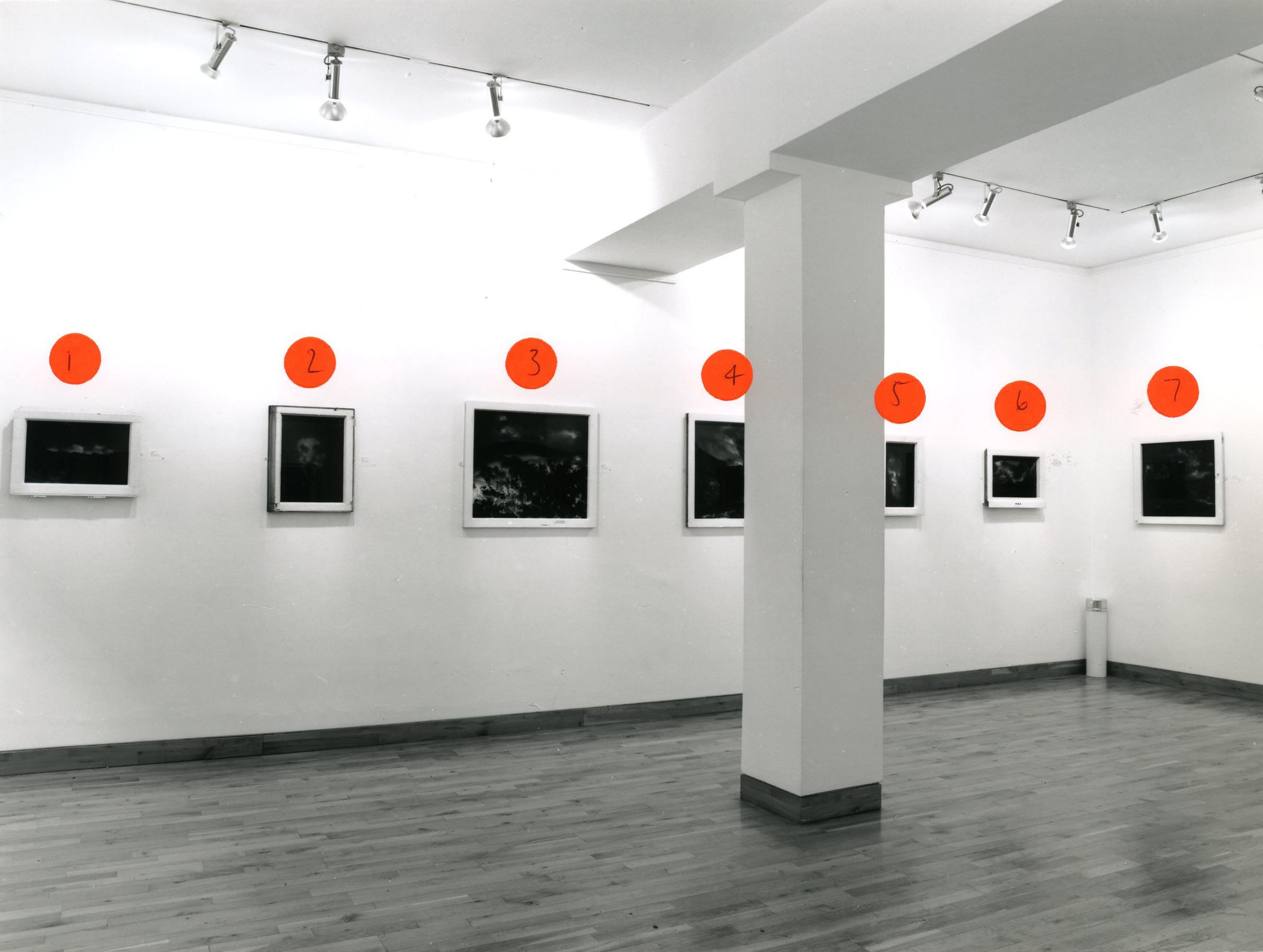 """<span class=""""link fancybox-details-link""""><a href=""""/exhibitions/173/works/image_standalone774/"""">View Detail Page</a></span><p>BEN KADISHMAN   PAINTINGS 1993 - 1998   29 JAN - 13 MAR 1998   Installation View</p>"""