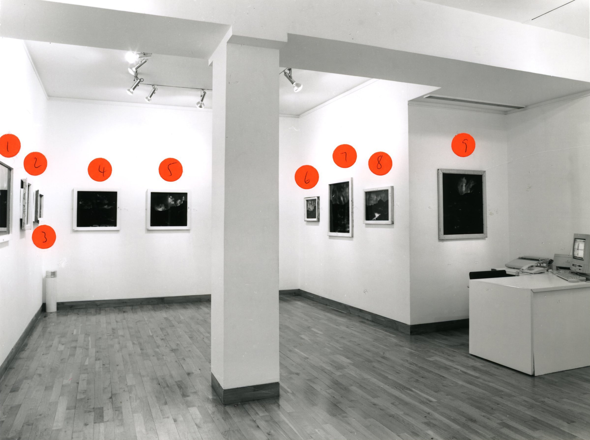 """<span class=""""link fancybox-details-link""""><a href=""""/exhibitions/173/works/image_standalone775/"""">View Detail Page</a></span><p>BEN KADISHMAN   PAINTINGS 1993 - 1998   29 JAN - 13 MAR 1998   Installation View</p>"""