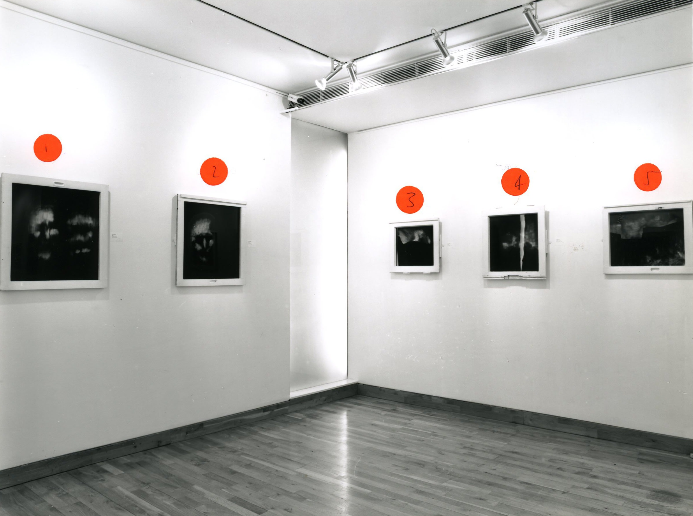 """<span class=""""link fancybox-details-link""""><a href=""""/exhibitions/173/works/image_standalone776/"""">View Detail Page</a></span><p>BEN KADISHMAN   PAINTINGS 1993 - 1998   29 JAN - 13 MAR 1998   Installation View</p>"""
