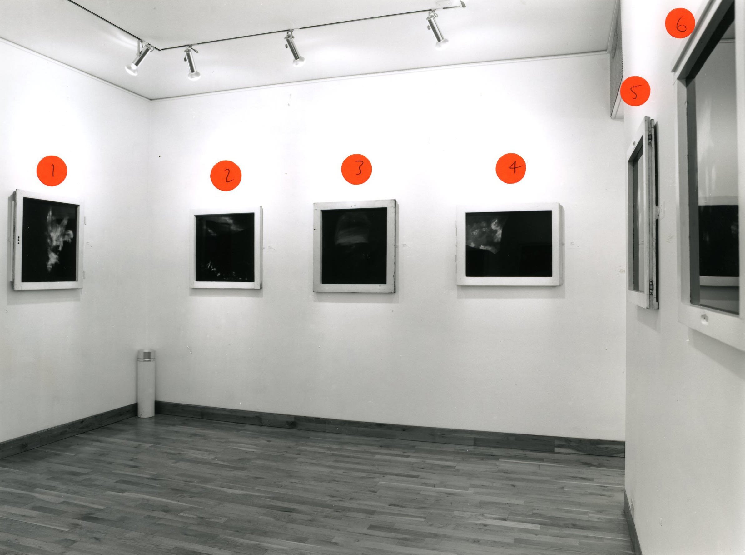 """<span class=""""link fancybox-details-link""""><a href=""""/exhibitions/173/works/image_standalone777/"""">View Detail Page</a></span><p>BEN KADISHMAN   PAINTINGS 1993 - 1998   29 JAN - 13 MAR 1998   Installation View</p>"""