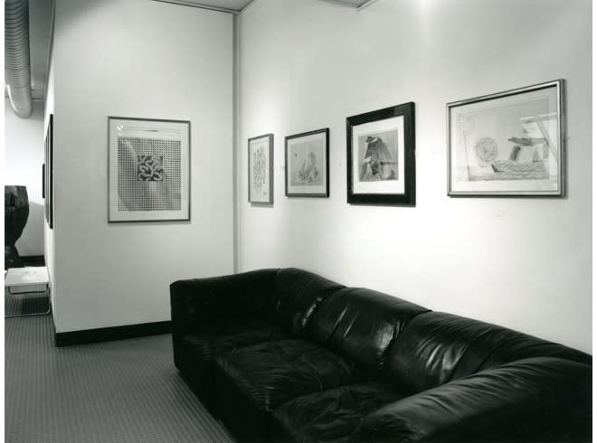 """<span class=""""link fancybox-details-link""""><a href=""""/exhibitions/178/works/image_standalone799/"""">View Detail Page</a></span><p>WORKS ON PAPER   15 JUN - 31 AUG 1996   Installation View</p>"""